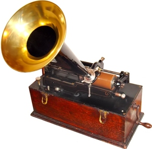 Edison home phonograph, c. 1899