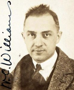 William Carlos Williams: passport photo, 1921