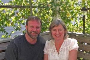Corey McDaniel (producer) and Julie Beckman (director); photo by K. Lindsay