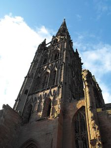 Spire of Coventry Cathedral