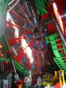 Large Hadron Collider at CERN being constructed