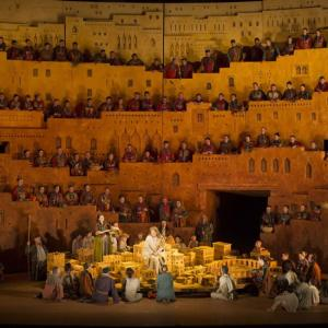 Carthage in Berlioz's Les Troyens: ROH production by David McVicar (photo: Cooper)