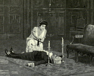Tosca, Act II, from pre-1914 Met Opera staging