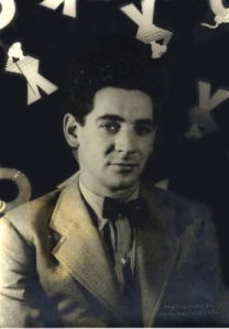 Leonard Bernstein in 1944; photo by Carl van Vechten