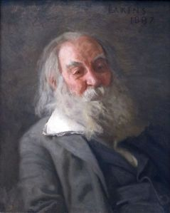 Portrait of Walt Whitman by Thomas Eakins, dated 1887-88