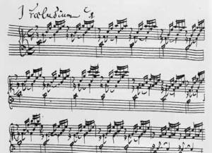 Book I, Prelude No. 1 in C major