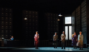 Menotti's The Consul at Seattle Opera; photo by Elise Bakketun