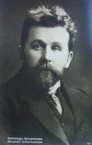 Alexander Gretchaninoff in 1910