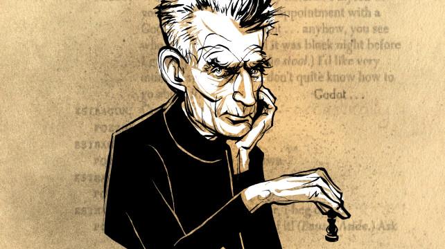 Αποτέλεσμα εικόνας για beckett samuel, caricature