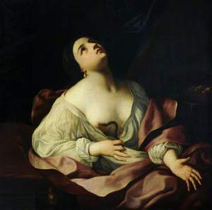 Cleopatra Bitten by the Asp, Guido Reni
