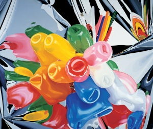 Jeff Koons, Tulips, 1995–98; private collection © Jeff Koons