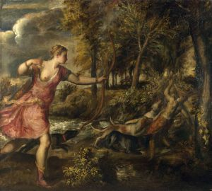 Titian, Death of Actaeon