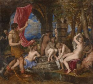 Titian, Diana and Actaeon