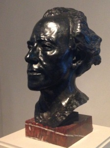Gustav Mahler by Auguste Rodin (1909); bronze (National Gallery of Art)