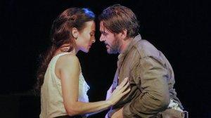 Isabel Leonard (Ada) and Nathan Gunn (Inman); photo by Ken Howard/courtesy of Santa Fe Opera