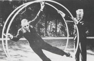 Igor Stravinsky and Charlie Chaplin