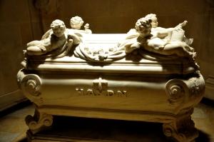 Haydn's crypt in the Bergkirche  in Eisenstadt